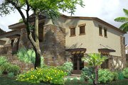 Contemporary Style House Plan - 3 Beds 3.5 Baths 3636 Sq/Ft Plan #120-188