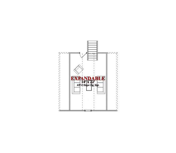 Traditional Floor Plan - Other Floor Plan Plan #63-360