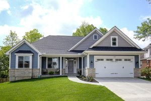 Dream House Plan - Ranch Exterior - Front Elevation Plan #46-832