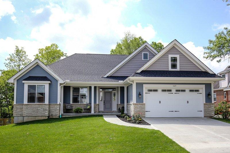 House Design - Ranch Exterior - Front Elevation Plan #46-832