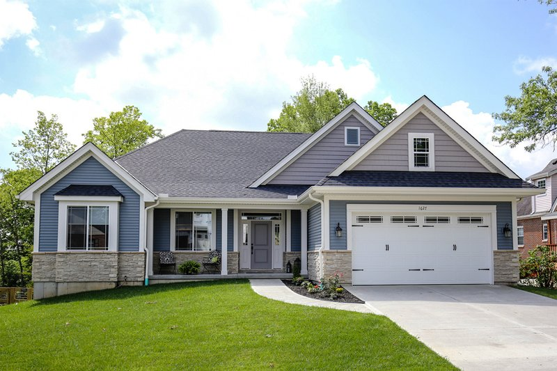 House Plan Design - Ranch Exterior - Front Elevation Plan #46-832