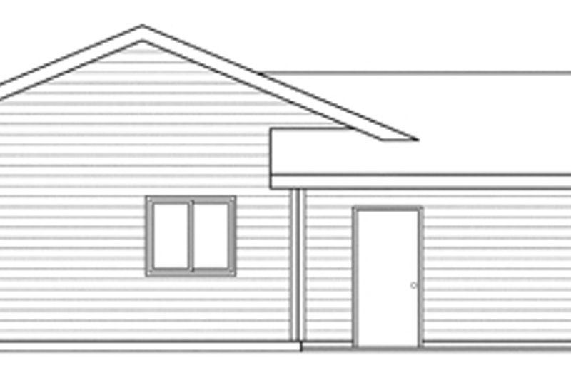 Traditional Exterior - Other Elevation Plan #124-871 - Houseplans.com