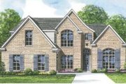 European Style House Plan - 3 Beds 2.5 Baths 2020 Sq/Ft Plan #424-107 Exterior - Front Elevation