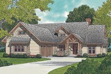 Craftsman Exterior - Front Elevation Plan #453-5