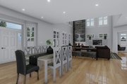 Craftsman Style House Plan - 3 Beds 2.5 Baths 7676 Sq/Ft Plan #1060-53 Interior - Dining Room
