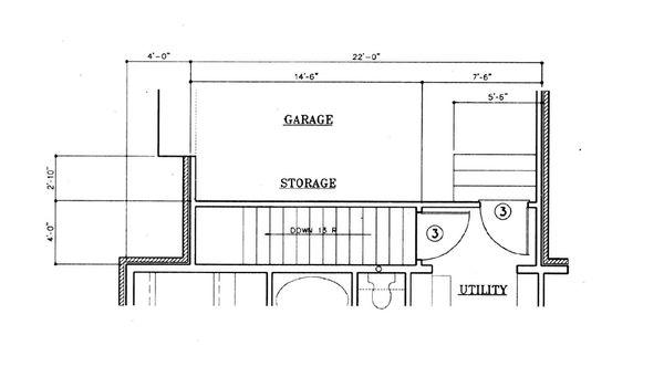 Home Plan Design - European Floor Plan - Other Floor Plan #45-120