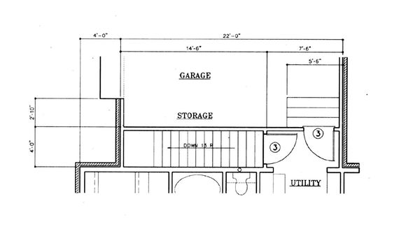 House Plan Design - European Floor Plan - Other Floor Plan #45-120