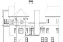 Home Plan - European Exterior - Rear Elevation Plan #119-154