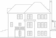 Traditional Exterior - Rear Elevation Plan #419-159