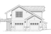 Craftsman Style House Plan - 1 Beds 1 Baths 605 Sq/Ft Plan #899-4 Exterior - Front Elevation