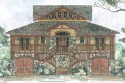 Country Style House Plan - 5 Beds 4 Baths 3086 Sq/Ft Plan #426-17