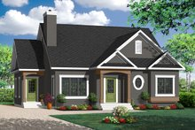 Country Exterior - Front Elevation Plan #23-2201
