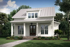 Home Plan Design - Farmhouse Exterior - Front Elevation Plan #430-227