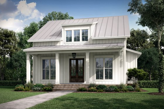 Farmhouse Exterior - Front Elevation Plan #430-227