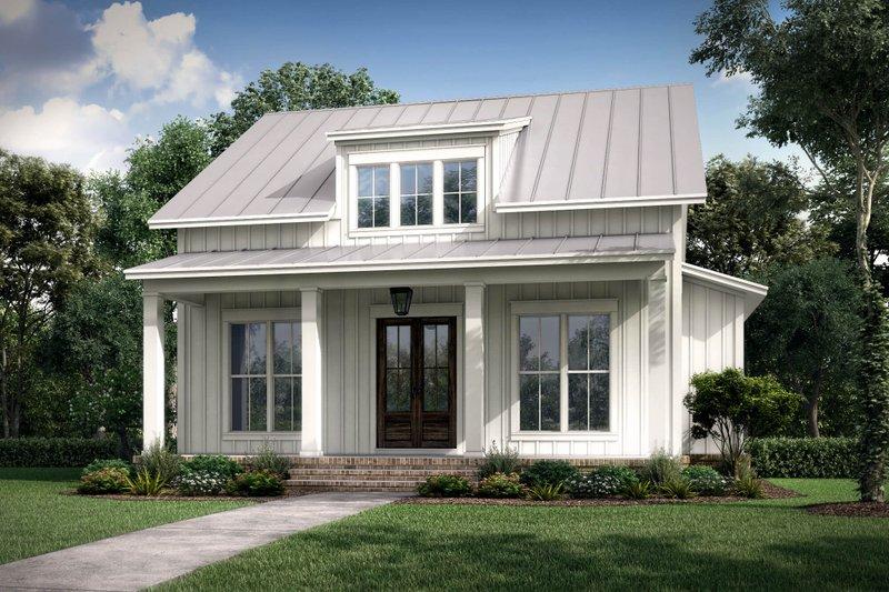 Farmhouse Style House Plan - 2 Beds 2 Baths 1257 Sq/Ft Plan #430-227