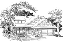 Home Plan - Ranch Photo Plan #70-1034