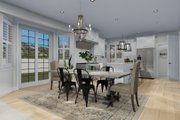 Craftsman Style House Plan - 3 Beds 2.5 Baths 2438 Sq/Ft Plan #1060-65 Interior - Dining Room