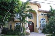 Mediterranean Style House Plan - 5 Beds 7.5 Baths 6679 Sq/Ft Plan #420-192