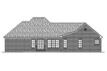 Dream House Plan - Traditional Exterior - Rear Elevation Plan #430-16