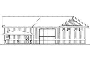 Bungalow Exterior - Front Elevation Plan #117-681