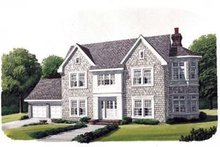 House Design - Victorian Exterior - Front Elevation Plan #410-361