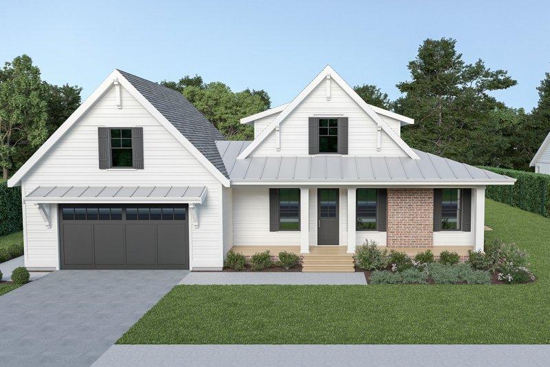 House Plan Design - Farmhouse Exterior - Front Elevation Plan #1070-87