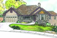 Home Plan - Traditional Exterior - Other Elevation Plan #124-671