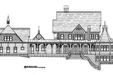 House Plan Design - Victorian Exterior - Rear Elevation Plan #119-175