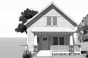 Craftsman Style House Plan - 4 Beds 2.5 Baths 2092 Sq/Ft Plan #461-69 Exterior - Front Elevation