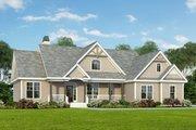 Craftsman Style House Plan - 3 Beds 2 Baths 1544 Sq/Ft Plan #929-307