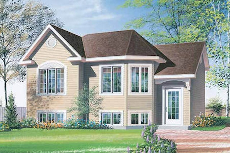 House Plan Design - European Exterior - Front Elevation Plan #23-307