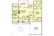 European Floor Plan - Main Floor Plan Plan #430-107