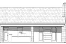 Country Exterior - Front Elevation Plan #932-135