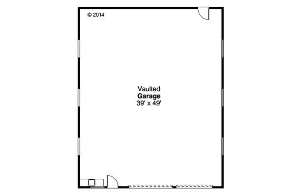House Plan Design - Traditional Floor Plan - Main Floor Plan #124-1070