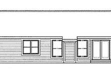 Home Plan - Traditional Exterior - Rear Elevation Plan #320-410