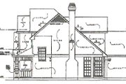 Traditional Style House Plan - 3 Beds 2.5 Baths 2000 Sq/Ft Plan #40-133