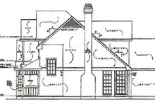 Traditional Exterior - Other Elevation Plan #40-133