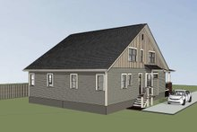 Traditional Exterior - Rear Elevation Plan #79-245