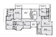 Contemporary Style House Plan - 6 Beds 5.5 Baths 6786 Sq/Ft Plan #1066-30 Floor Plan - Upper Floor Plan