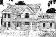 House Design - Traditional Exterior - Front Elevation Plan #20-310