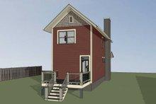 Dream House Plan - Craftsman Exterior - Other Elevation Plan #79-278