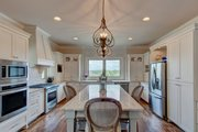 Ranch Style House Plan - 3 Beds 3.5 Baths 2350 Sq/Ft Plan #437-89 Interior - Kitchen
