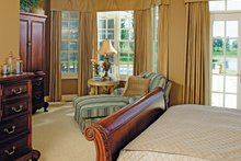 Country Interior - Master Bedroom Plan #929-13