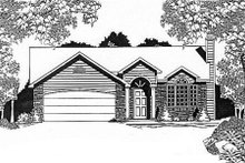 Home Plan Design - Traditional Exterior - Front Elevation Plan #58-115