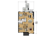 Contemporary Style House Plan - 6 Beds 3 Baths 3666 Sq/Ft Plan #25-4356 Floor Plan - Upper Floor