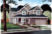 Modern Style House Plan - 3 Beds 2.5 Baths 2233 Sq/Ft Plan #312-876 Exterior - Front Elevation