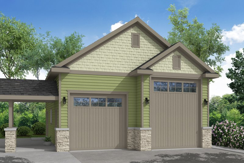 Dream House Plan - Traditional Exterior - Front Elevation Plan #124-990