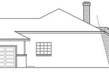 Traditional Exterior - Other Elevation Plan #124-177