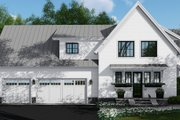 Farmhouse Style House Plan - 4 Beds 4.5 Baths 2886 Sq/Ft Plan #51-1132 Exterior - Other Elevation