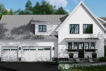 Dream House Plan - Farmhouse Exterior - Other Elevation Plan #51-1132